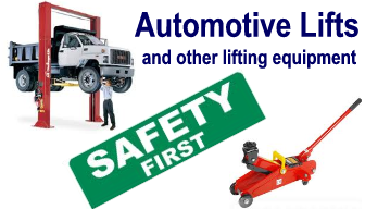11 Automotive Lifts and Other Lifting Equipment